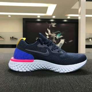專櫃正品 Nike Epic React Flyknit  男女休閑運動跑鞋 AQ0070-400