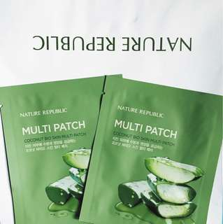 JASA TITIP Nature Republic (Coconut bio skin multi patch)