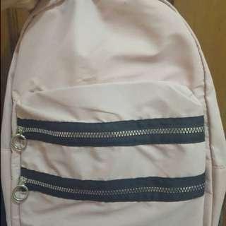 Stradivarius backpack pink limited