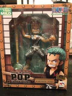 One Piece Limited Edition P.O.P Roronoa Zoro Brand New Unopened Imported from Japan