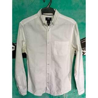 H&M White Shirt Men