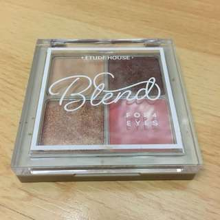 Etude House Blend For 4 Eyes  Eyeshadow
