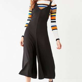 BNWT cross back overall / jumpsuit