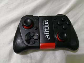 Logitech F310 wired controller plus  Mocute 050 android bluetooth controller