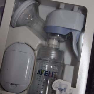 AVENT single electric breast pump (pwede din syang gawing manual,wall adaptor, battery operated.)