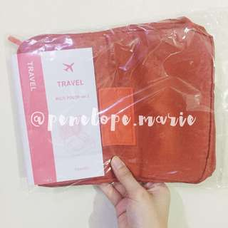 High-Quality Universal Travel Organizer (Orange) + Free Shipping*