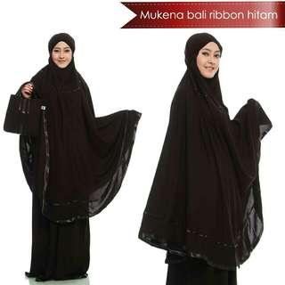 Mukena Rayon Bali Ribbon