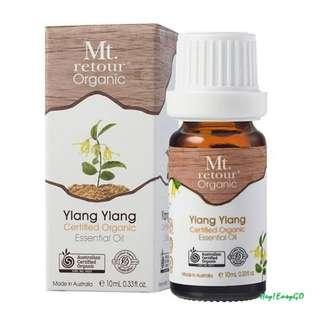 澳洲原裝進口 Mt.retour Ylang Ylang 有機依蘭依蘭單方精油
