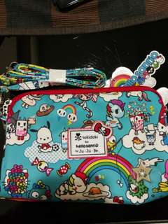 BN Jujube Rainbow Dreams Be Set (Large) with strap