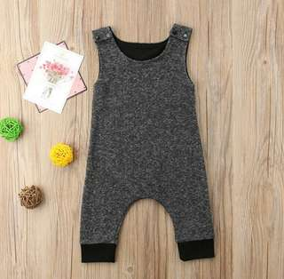 🍀Newborn Baby Boy Girl Sleeveless Jumpsuit🍀
