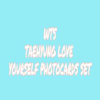 Taehyung Love Yourself Photocards Set