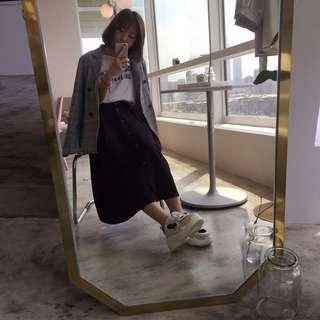 韓系漚膩百搭格紋西裝外套