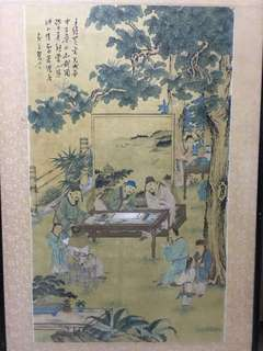 Chinese painting on cloth