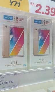 Vivo Y71 bisa cicilan proses cepat