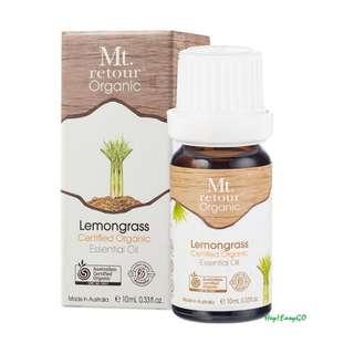 澳洲原裝進口 Mt.retour Lemongrass 有機檸檬草單方精油