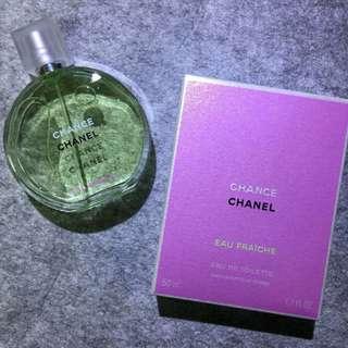 🇫🇷Chanel Chance Eau Fraiche淡香水(綠色)