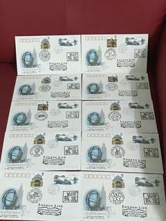 China Stamp- WZ54 —10 pieces commemorative covers ( different chop )