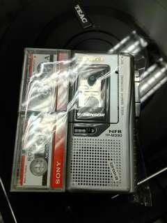 AIWA TP-M330 Micro Cassette Voice Recorder