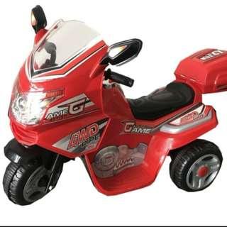 超炫-紅色火焰重型電動摩托車