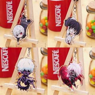 [PO] Tokyo Ghoul Double Sided Acrylic Keychains