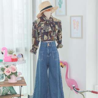 🍿 Vintage Blouse VB1503