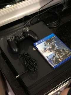 PS4 Pro 1TB Bonus Monster Hunter Collector Edition