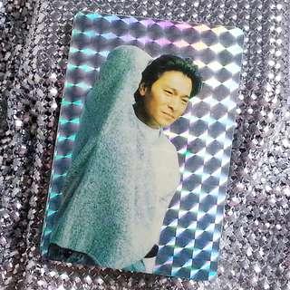 劉德華 Andy Lau 華仔 絕版 閃咭 閃卡 閃Card 歌詞:風中的歌