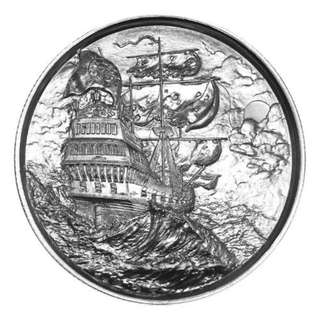 2 oz Privateer Ultra High Relief 999 Fine Silver Round