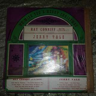 """""""We Wish You A Merry Christmas"""" Collection by Jerry Vale & Ray Conniff And The Singers Vinyl Record"""