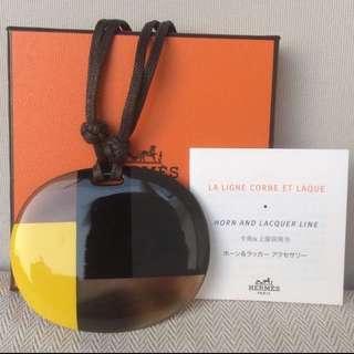 全新愛馬仕手袋裝飾品 包包 Authentic Hermes Product, 超級精美好手工牛骨製成品!