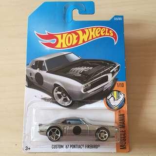 Hot Wheels 335/365 Custom '67 Pontiac Firebird #List4Avengers