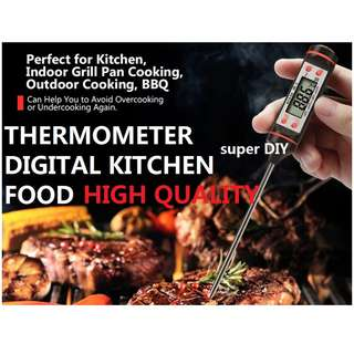 LCD Digital Kitchen Probe Thermometer Food Cooking universal
