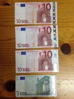 Euro 歐元 - 35