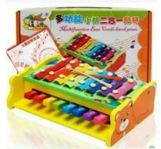 2 in 1 Piano Xylophone