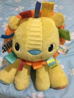 Bright Starts Lion baby soft toy