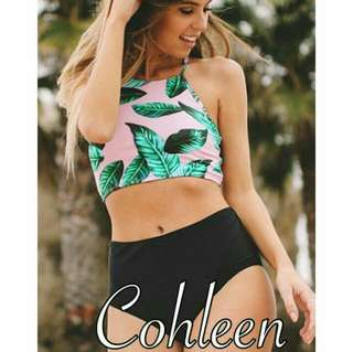 Cohleen HW Two Piece Swimsuit