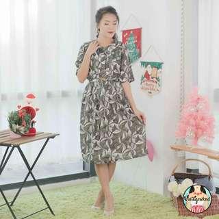 🍿 Vintage Midi Dress VD929