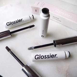100% BRAND NEW ORI GLOSSIER BOY BROW BLACK COLOR