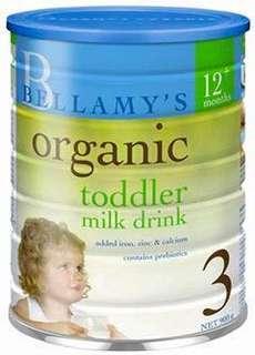 Bellamy Milk Powder Step 3