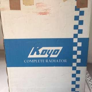 Koyo Radiator PA080295 for civic EK4/EK9