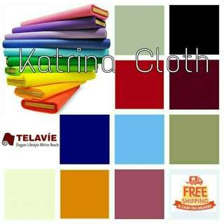 KATRINA Fabrics Raw Tela Assorted Colors TELAVIE