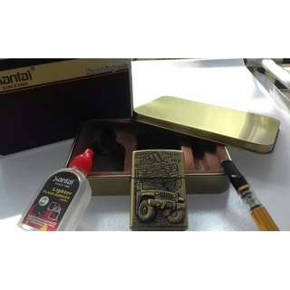HOT Item Xiantai Flip Top Lighter limited edition The King Of 4WD emboss