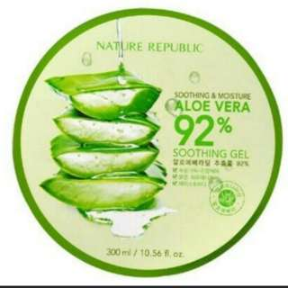 Ready stock nature republic aloe vera