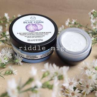 Share in jar 15g The body shop blue corn
