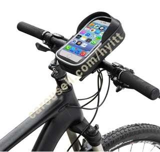 Waterproof bicycle phone bag phone holder