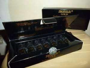 PROPOLIS GOLD (1Box isi 7 Botol)