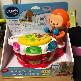 *ready stock* VTech Baby Beats sing Monkey Drum