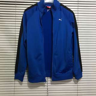 Authentic Blue Puma Track Jacket