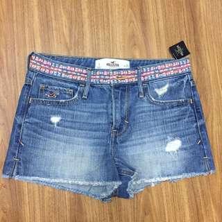 Hollister Denim Shorts High-rise 牛仔褲 短褲 高腰 #2347