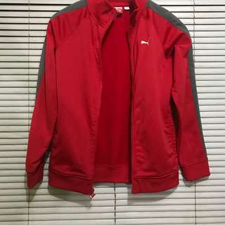 Authentic Red Puma Track Jacket